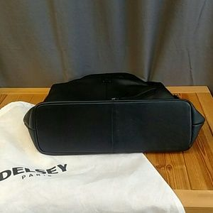 Delsey Paris Bags - Delsey Paris Leather Carry On Travel Handbag